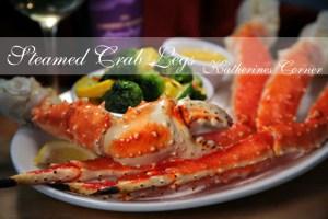 Steamed Alaskan King Crab