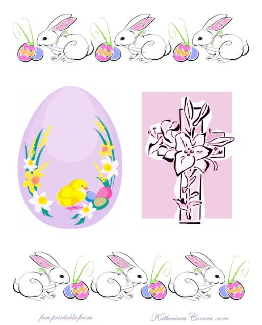 free Easter printable Katherines Corner