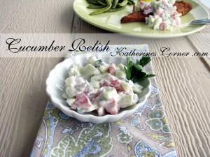 Fresh Cucumber Relish