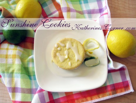 lemon lime cookies