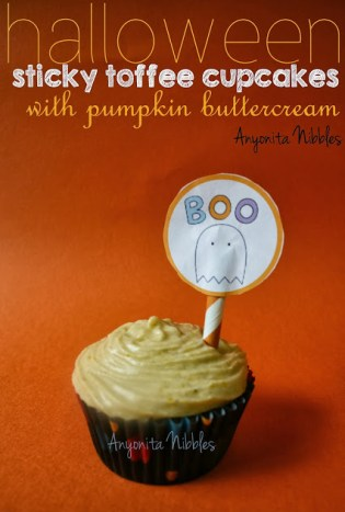 toffee cupcake recipe