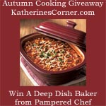 Autumn Cooking Giveaway, Pampered Chef
