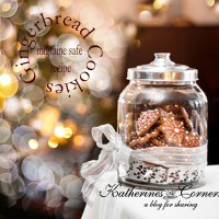 Gingerbread Cookies, Gingerbread House Tour 2014