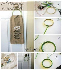 Embroidery Hoop DIY