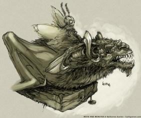 Moth Bat Rider