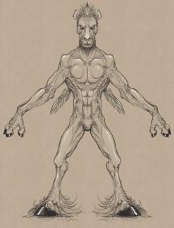 Pegasus man