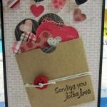Sharing a few Valentine Cards…