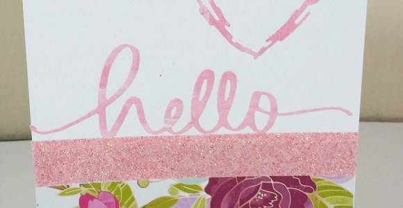 Serendipity Hello Card