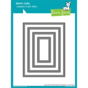 Lawn Fawn Large Stitched Rectangle Dies