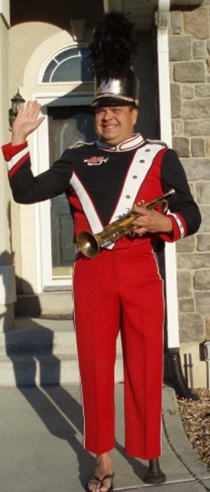 dad wave band uniform