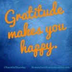 gratitude makes you happy BCC