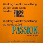 stress v passion BCC