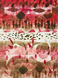 Kathleen Thoma, Vivacious Visions, monotype, 11x14