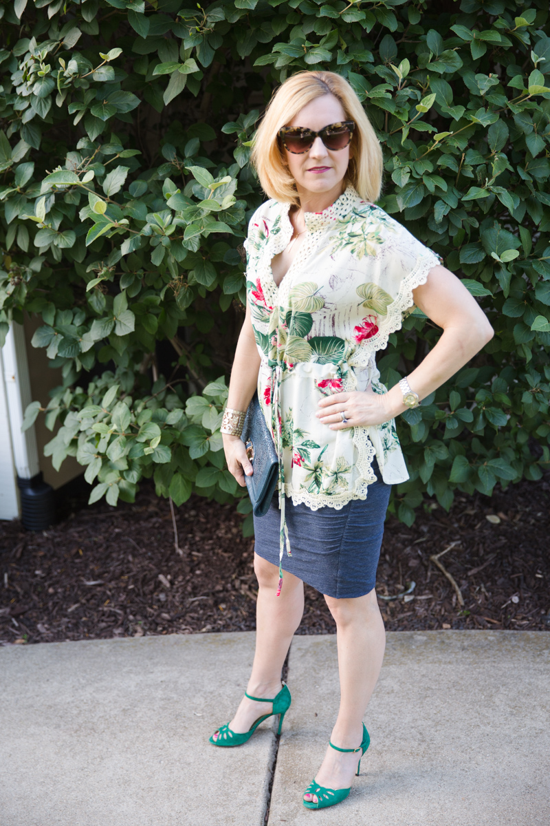 Exotic Floral - Kathrine Eldridge, Wardrobe Stylist