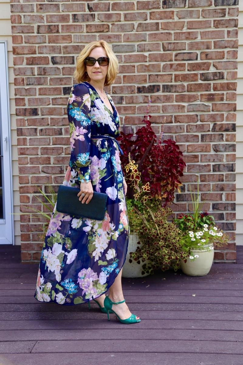 Dramatic Fall Florals - Kathrine Eldridge, Wardrobe Stylist