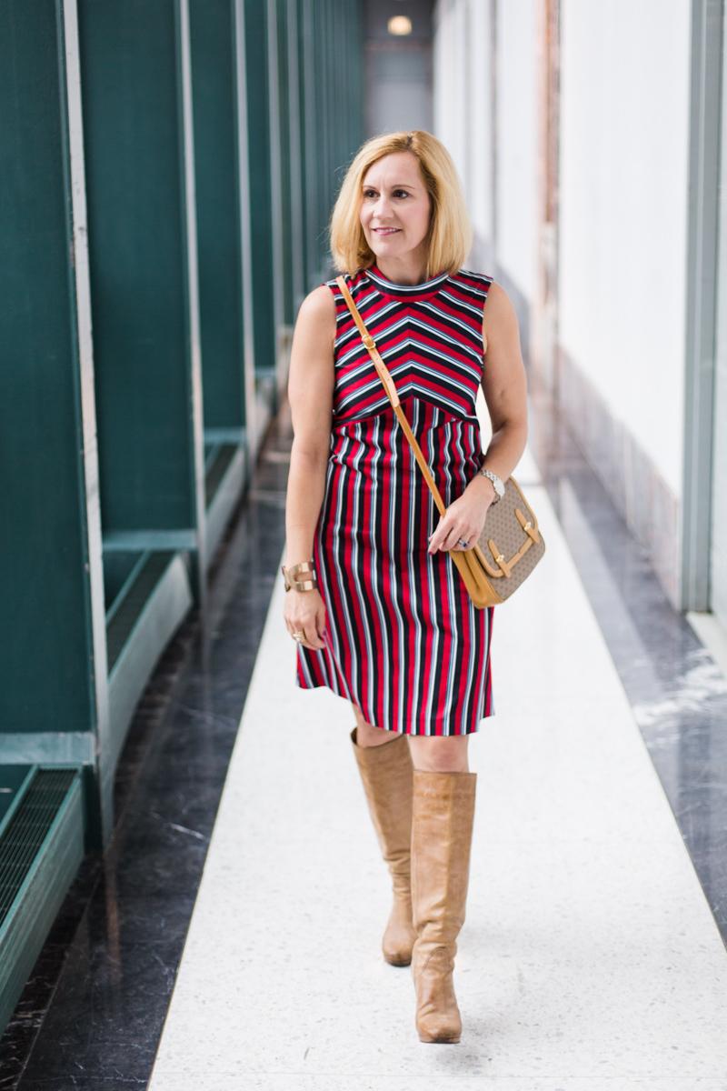 Mod Stripes with Closet London - Kathrine Eldridge, Wardrobe Stylist