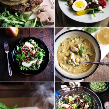 Winter Cleanse Week Two - Menu and Grocery List, from Katie at the Kitchen Door