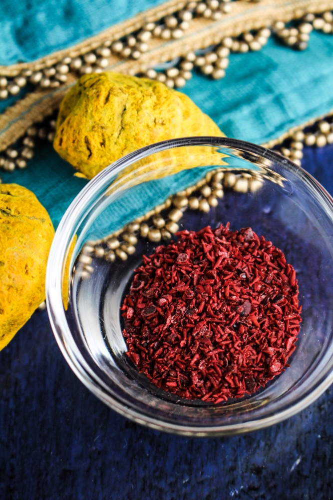 Sumac and Whole Turmeric, Treasures from Oman