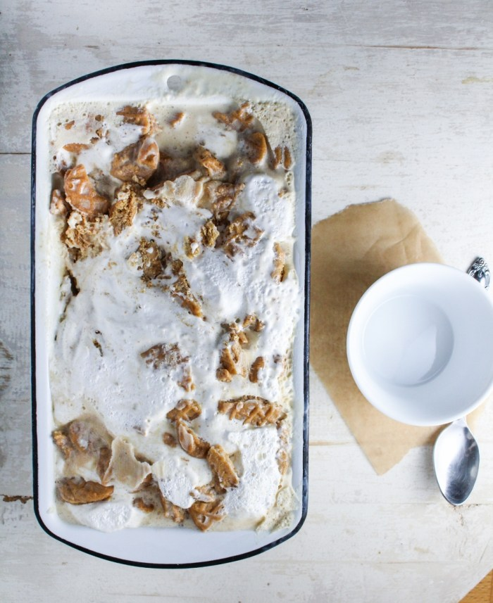 Peanut Butter and Fluff Ice Cream {Katie at the Kitchen Door}