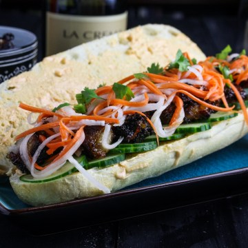Pork Belly Bánh Mì {Katie at the Kitchen Door}