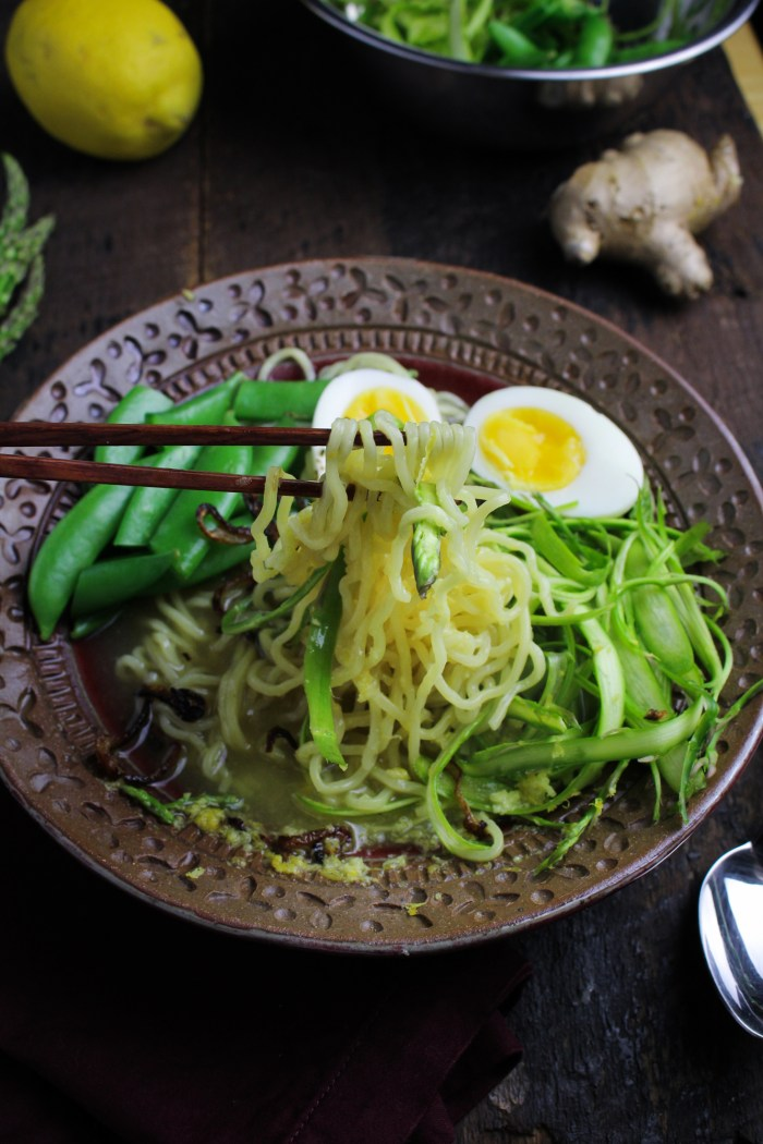 curry recipe ramen vegetarian //  Ramen Recipes for Ramen  Spring Vegetarian Bowl Club: Book Katie