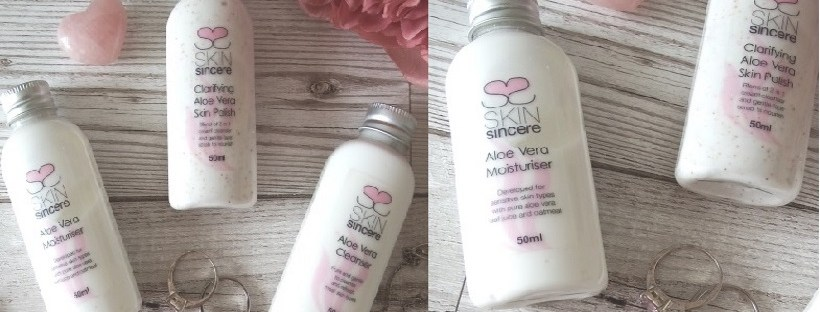 SkinSincere Aloe Vera Skin Polish Moisturiser and Cleanser Review