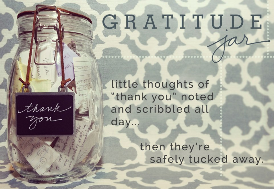 Gratitude Jar from katienormalgirl.com