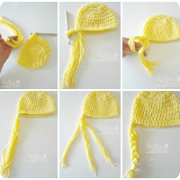 how-to-add-braids-to-crochet-hat