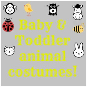 Baby & Toddler Animal Costumes