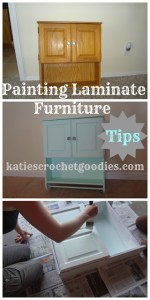 Painting Laminate Furniture DIY