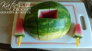 DIY Watermelon Popsicles