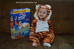 Tiger Halloween Costume