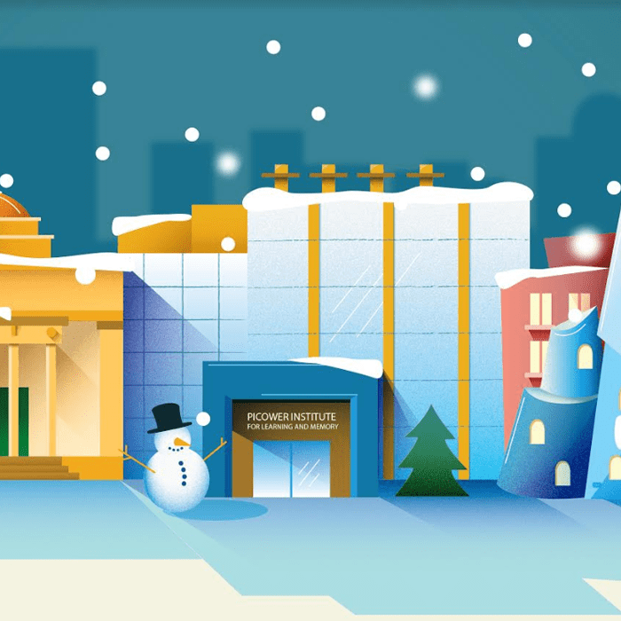 Picower Institute for Learning and Memory: Holiday Card
