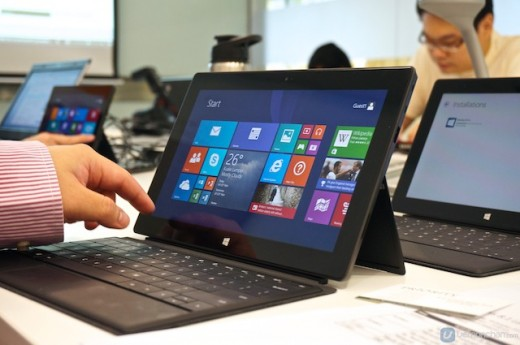 Microsoft Surface with Windows 8