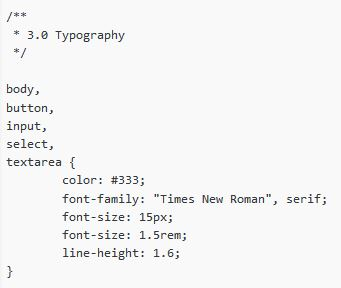 2012 After Font Family Code