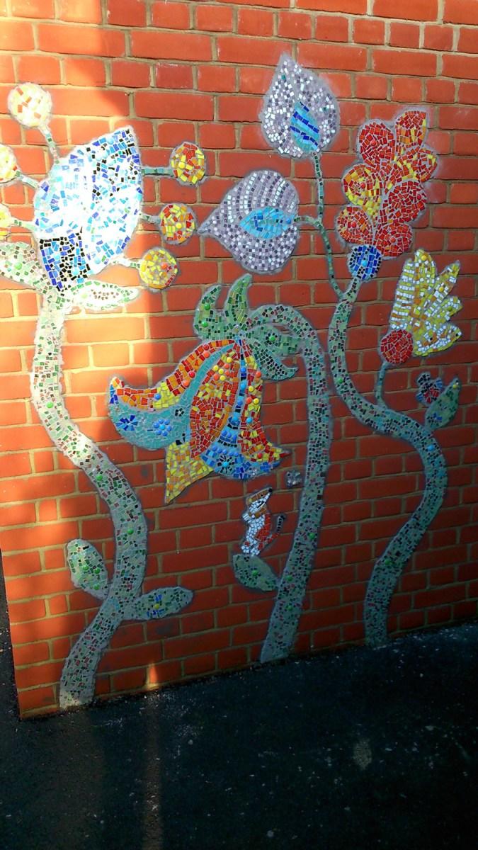 mosaic workshops mosaics, flowers