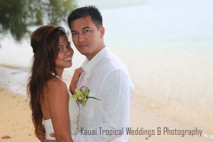 Anini Beach Wedding