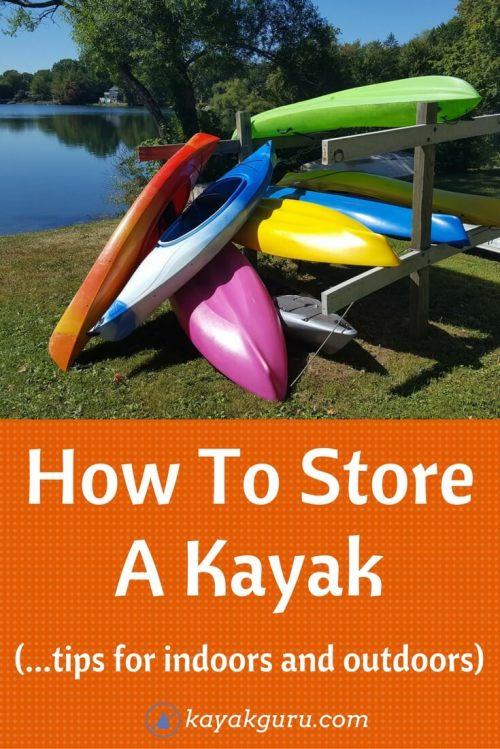 Medium Of Kayak Storage Ideas