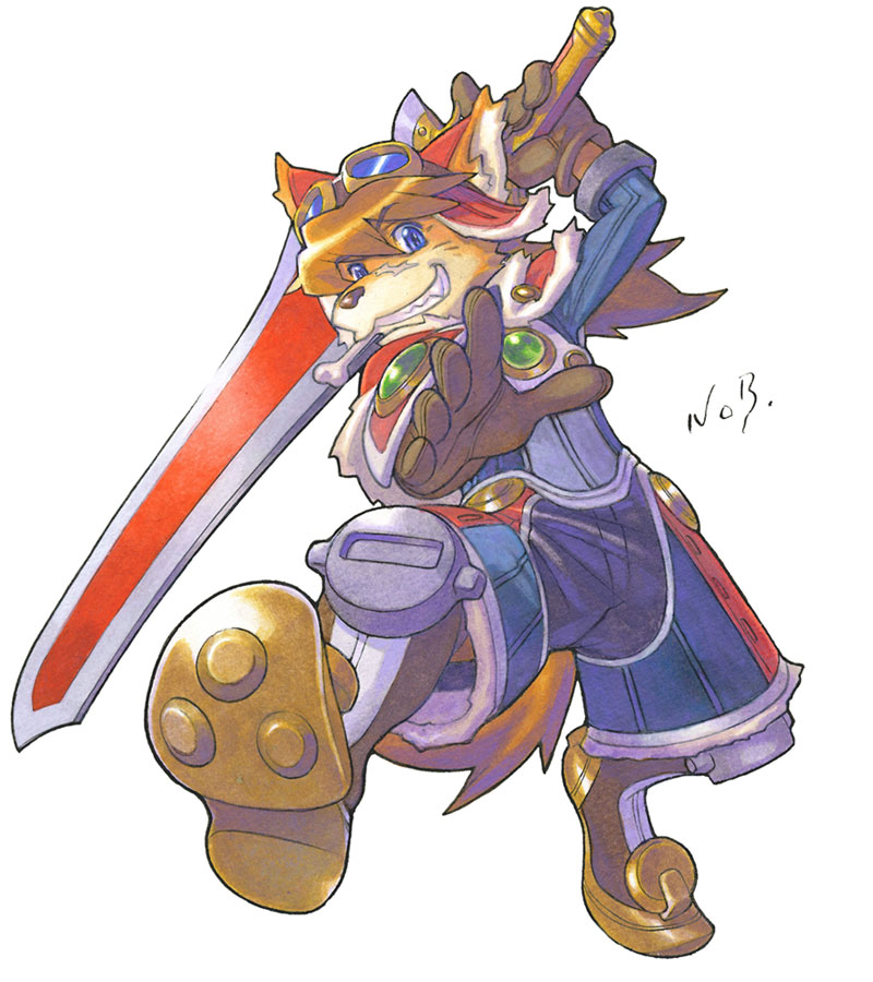 Solatorobo Artwork 2