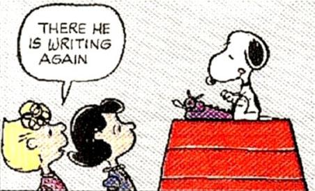 snoopy-ecrivain