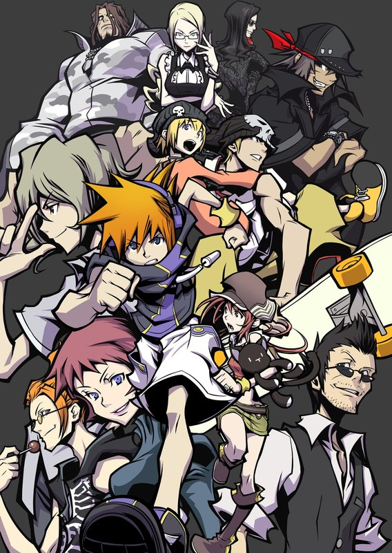 The World Ends With You Art