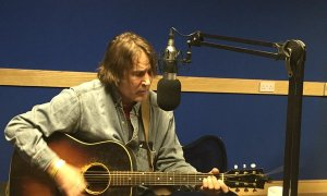 """David Corley in a Studio 2 Session for """"Folk/Roots"""" with Martin Bridgeman"""