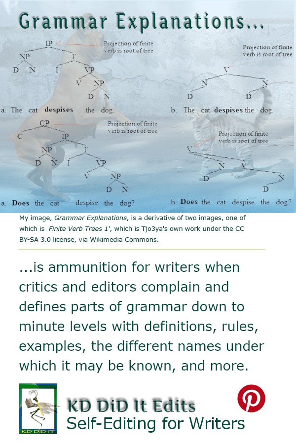 Grammatical edits