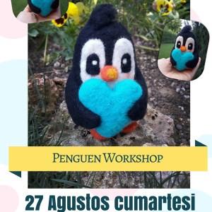 Penguen Workshop 27 Ağustos Cumartesi