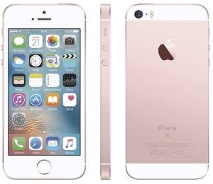 Iphone SE rosa barato