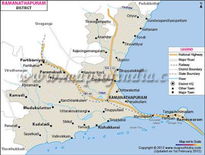 ராமநாதபுரம் மாவட்டத்திற்கு 13 புதிய பஸ்கள்!!