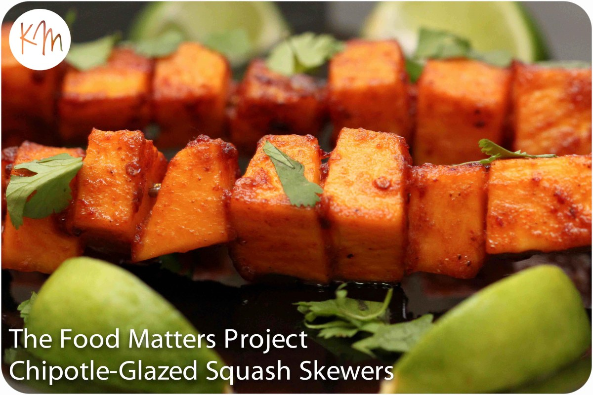 The Food Matters Project ::: Chipotle-Glazed Squash Skewers