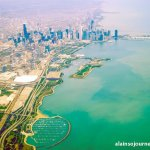 Chicago Skyline from Porter Airlines