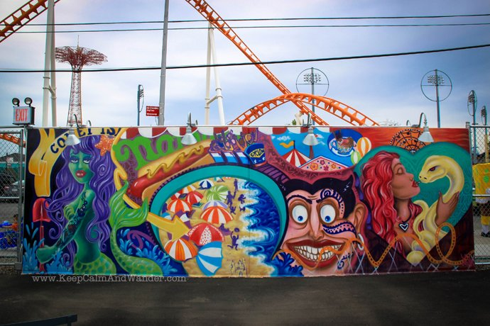 Coney island murals for Coney island mural