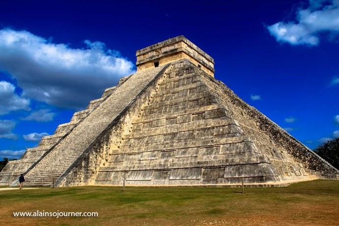 Chichen Itza Pyramid Mexico Kukulkan Cancun Tulum 16